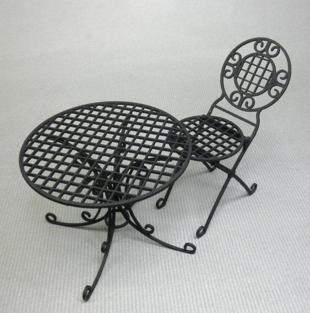 画像1: ガーデンテーブル、ガーデンチェア(数量限定品)