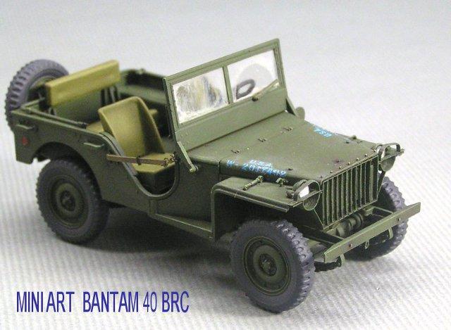 画像1: ミニアート BANTAM40 BRCフロントグリルセット