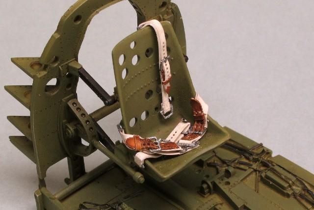 画像2: 1/32 日本海軍機シートベルト(HDシリーズ)