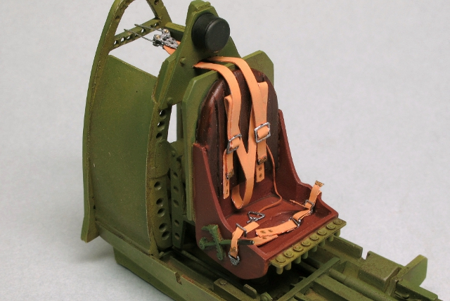 画像2: 1/32 英軍機シートベルト(HDシリーズ)