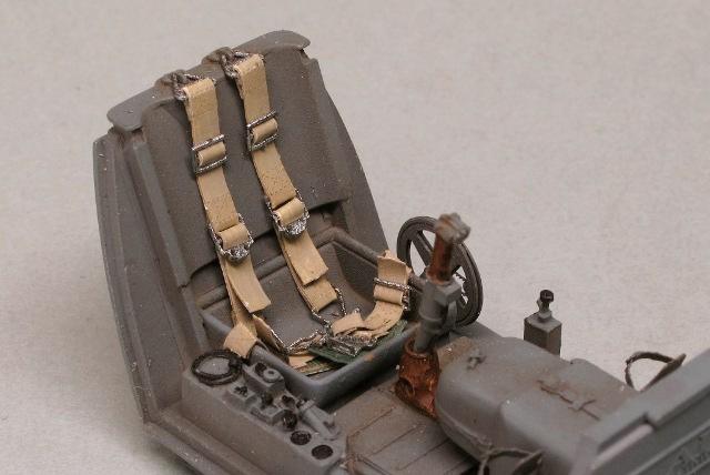 画像2: 1/32 独軍機シートベルト(HDシリーズ)