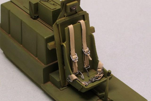 画像2: 1/32 米軍機シートベルト(HDシリーズ)
