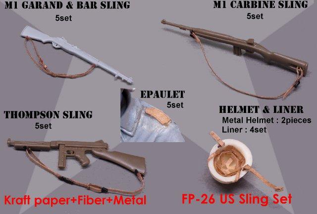 画像1: 米軍スリングセット