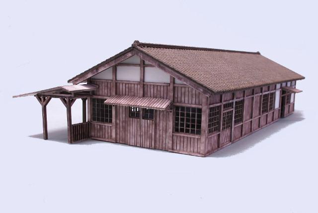 画像2: 駅舎壱