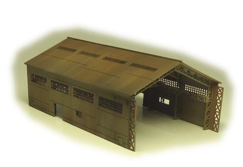 画像1: 一号建屋(大型ヤード)
