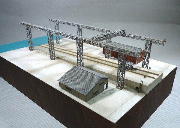 画像1: 小型船台(ガントリークレーン付)〔C-15〕